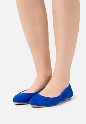Baleríny - alcantara blau