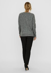Vero Moda - VMIVA  - Jumper - medium grey melange - 2