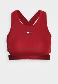 LOW SUPPORT REMOVABLE PADS BRA - Sports bra - red