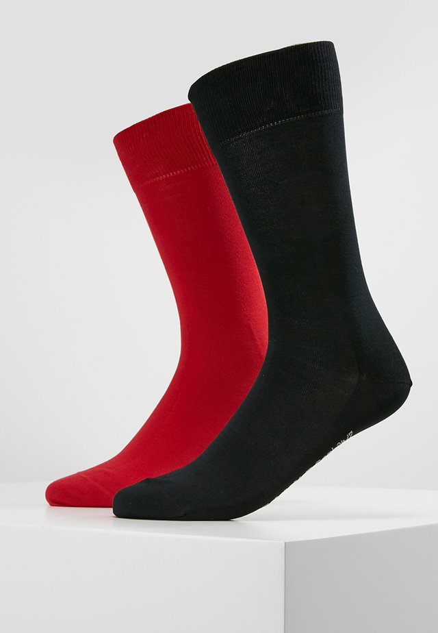 2 PACK COOL  - Socks - dark blue/red