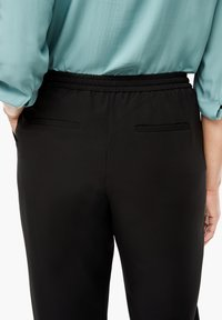 Triangle - REGULAR FIT - Trousers - black - 4
