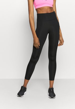 AIR EPIC FAST - Leggings - black/silver