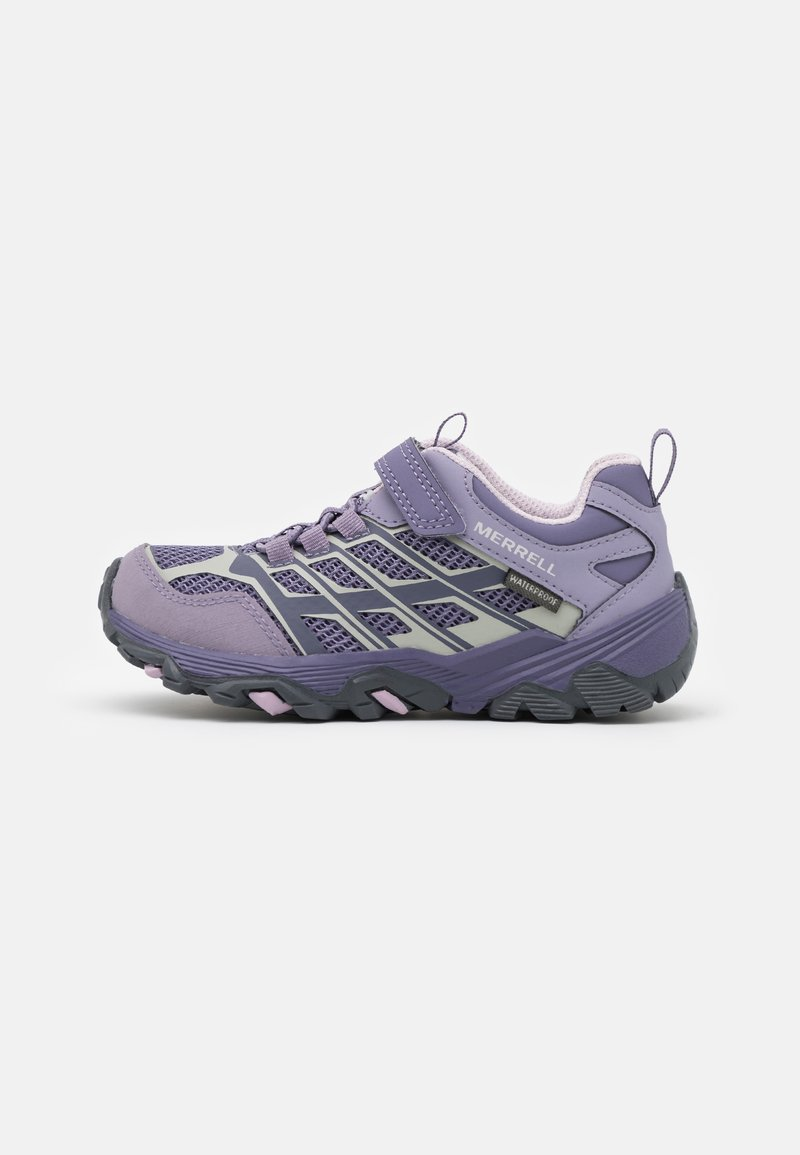 Merrell - MOAB FST LOW WTRPF UNISEX - Hiking shoes - cadet/purple ash