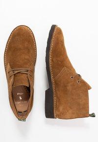 Polo Ralph Lauren - TALAN CHUKKA BOOTS CASUAL - Zapatos con cordones - desert tan - 1