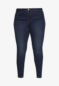 JUNAROSE - by VERO MODA - JRFOUR JAIME  - Jeans Skinny Fit - dark blue denim - 4