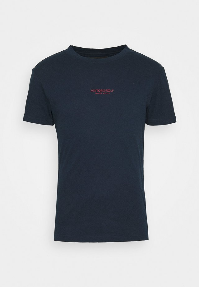 T-shirts - navy melange