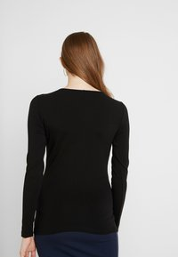 ONLY - ONLLIVE LOVE O-NECK 2PACK - Long sleeved top - black/white - 4
