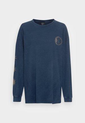 SOUL SEARCH SKATE DRESS - Maglietta a manica lunga - navy