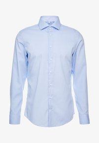 Seidensticker - SLIM FIT SPREAD KENT PATCH - Zakelijk overhemd - blue - 4
