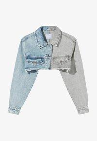 Bershka - Denim jacket - light-blue denim - 4