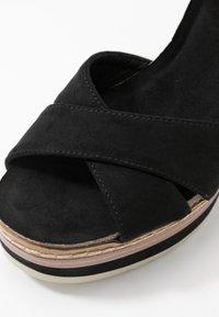 H.I.S - Sandály na vysokém podpatku - black - 2