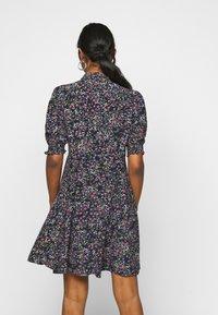 Vero Moda Petite - VMLISSY SHORT DRESS - Kjole - dark blue - 2