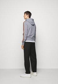 Paul Smith - GENTS ZIP THROUGH TAPED SEAMS HOODY - Sweater met rits - mottled grey - 2
