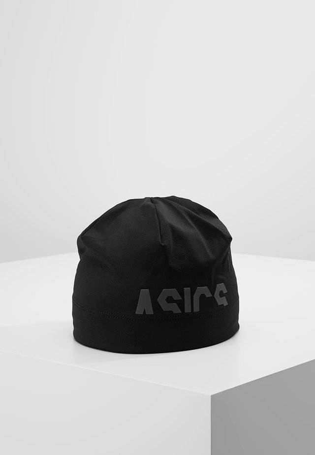 LOGO BEANIE - Lue - performance black