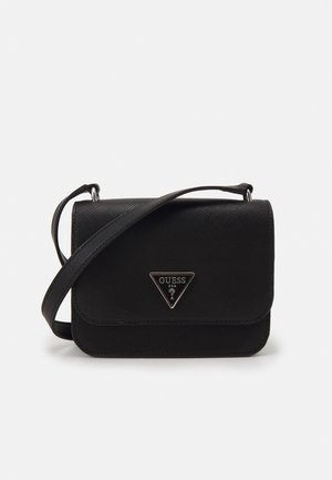 NOELLE MINI CROSSBODY FLAP - Across body bag - black