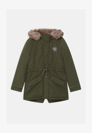 Winter coat - khaki/olive