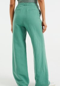 WE Fashion - Trousers - mint green - 2