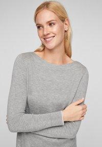 s.Oliver - Jumper dress - grey melange - 3