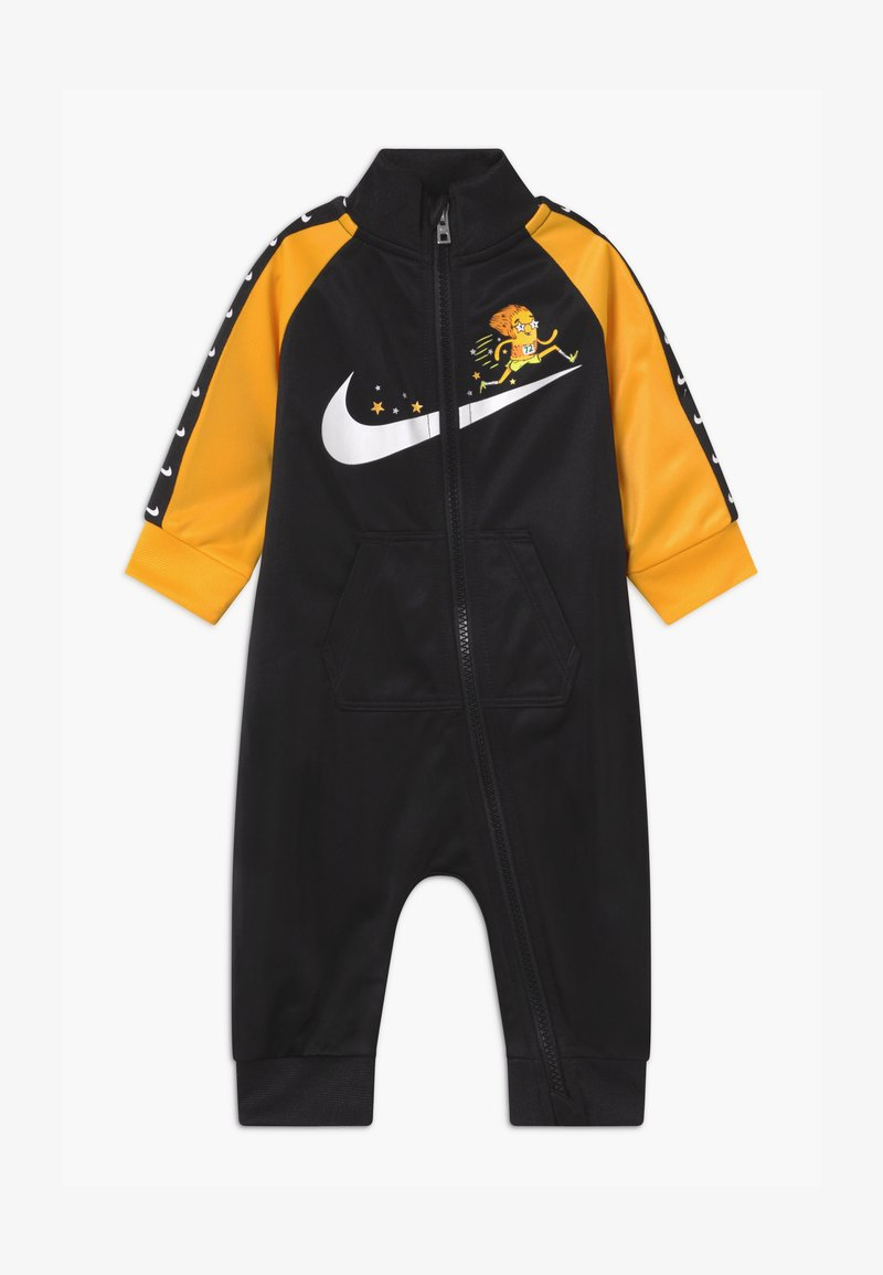 Nike Sportswear - ZIP - Overall / Jumpsuit - black/yellow