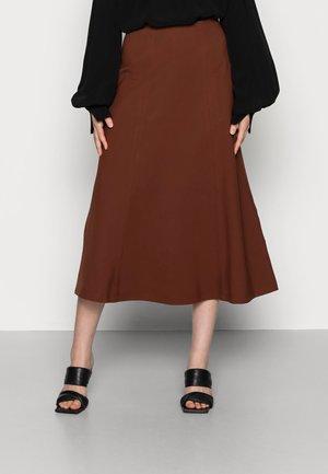 SELINA - Áčková sukně - marsalla