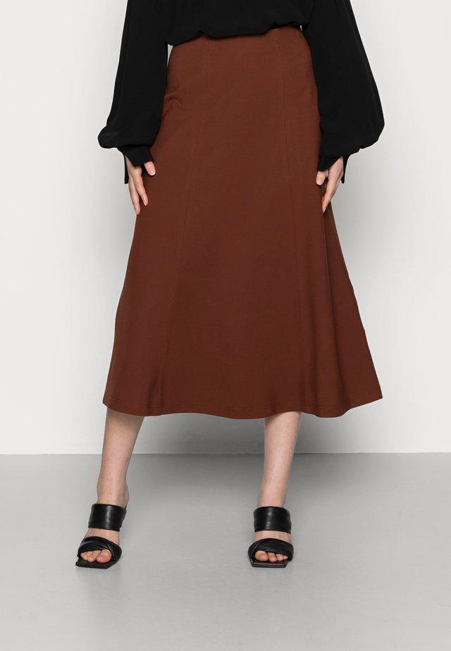 SELINA - A-snit nederdel/ A-formede nederdele - marsalla