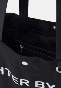 Neil Barrett - FIGHTER BY DAY LOVER BY NIGHT TOTE BAG UNISEX - Tote bag - black/white - 4