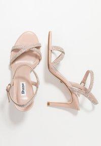 Dune London WIDE FIT - WIDE FIT MAGDALENA - High heeled sandals - blush - 3
