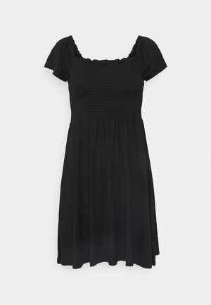 MINI DRESS - Vestido ligero - true black