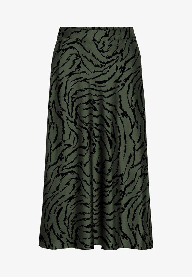 VMCHRISTAS  - A-lijn rok - black forest
