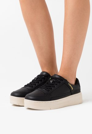 SILVERWOOD - Sneakers laag - regular black