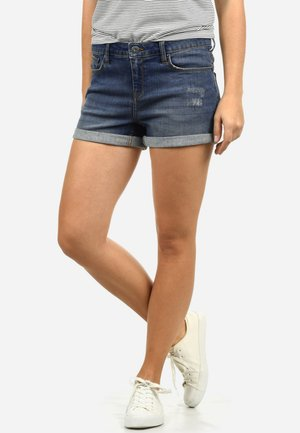 ANDREJA - Denim shorts - dark blue