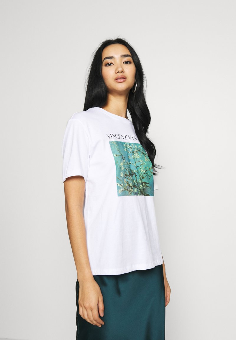 Even&Odd - Camiseta estampada - white