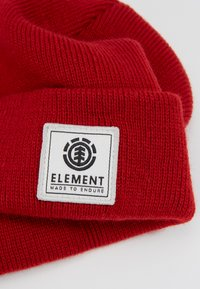 Element - DUSK BEANIE BOY - Beanie - pompeian red - 2