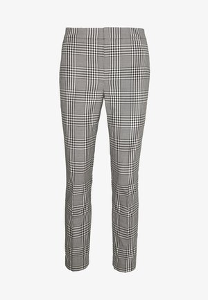 SUITING PANT - Bukser - black/white