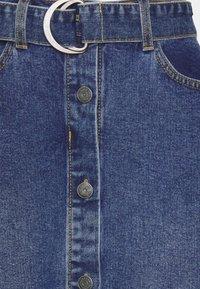 Object - OBJJADA SKIRT  - Pencil skirt - medium blue denim - 2