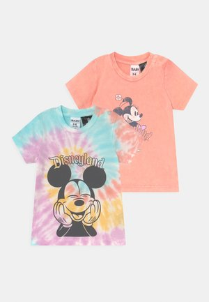 JAMIE SHORT SLEEVE TEE 2 PACK  - T-shirt print - multi-coloured
