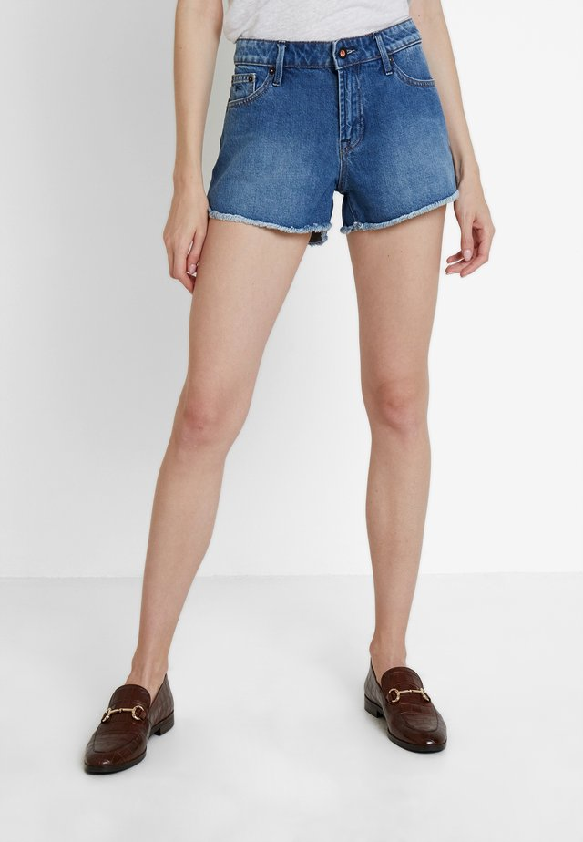 MONROE - Denim shorts - blue