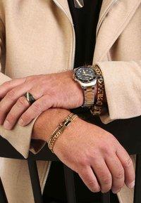 Lucardi - Ring - goudkleurig/zwart - 0