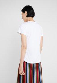 Sonia Rykiel - Print T-shirt - blanc casse - 2