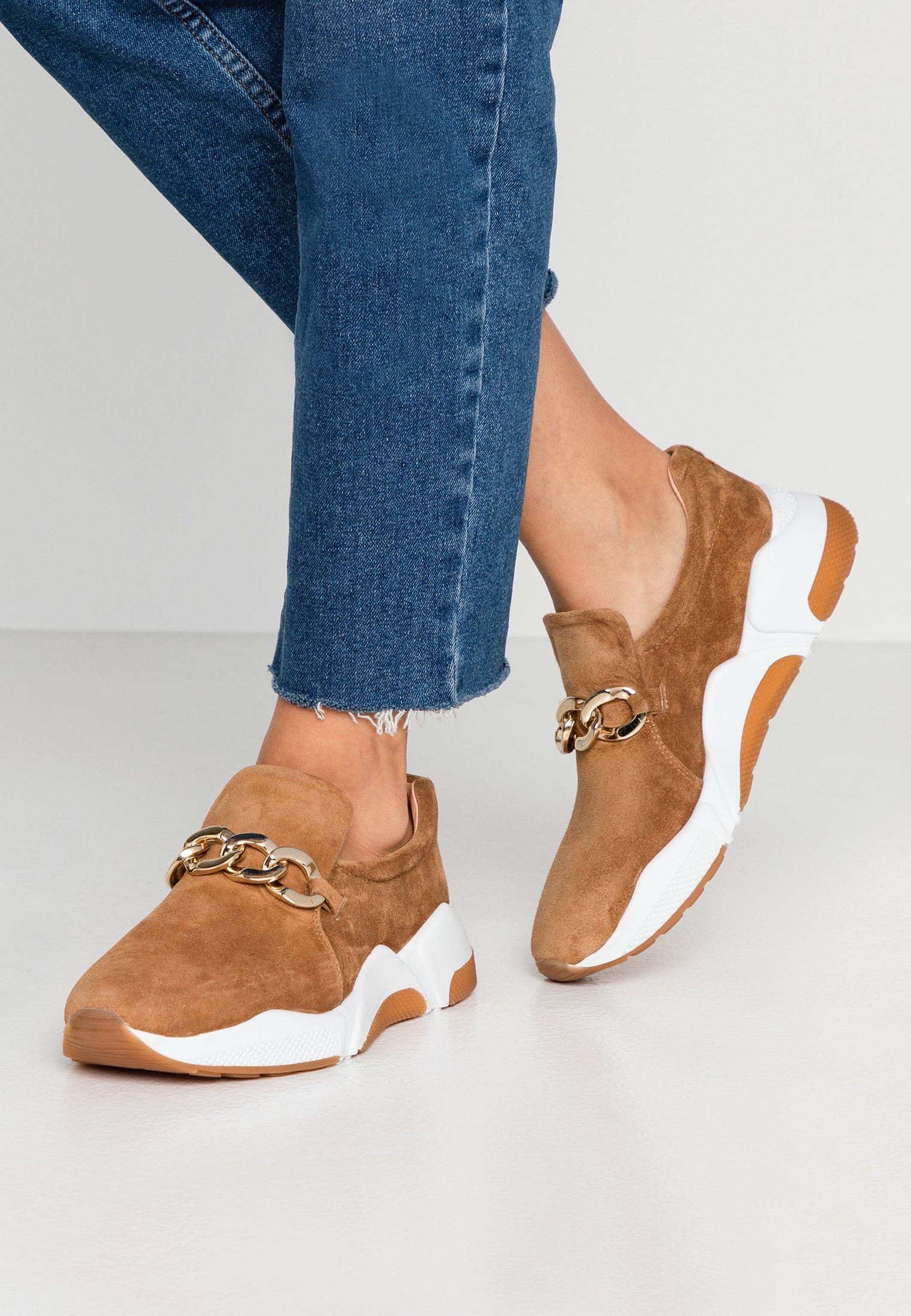 New Styles Perfect Women's Shoes Billi Bi Slip-ons dark beige q3Ry1DJkU FkmD4fsWB