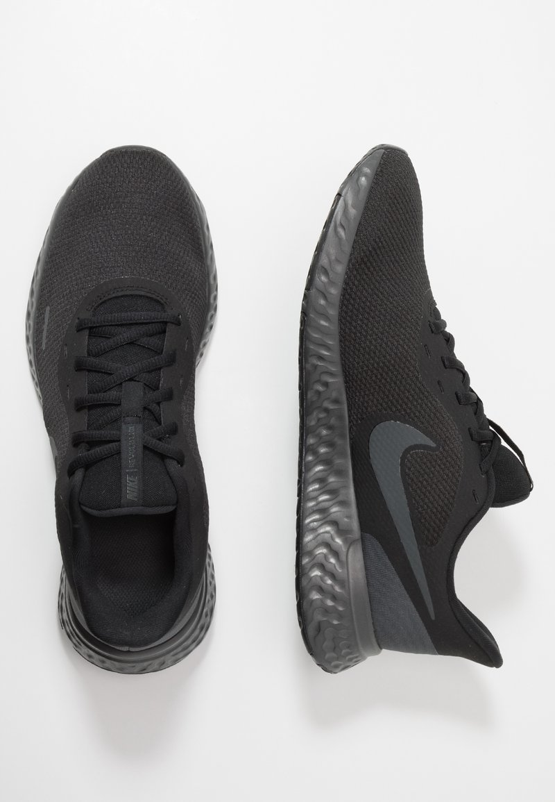 Dios alimentar Simplemente desbordando  Nike Performance REVOLUTION 5 - Neutral running shoes - black/anthracite -  Zalando.co.uk