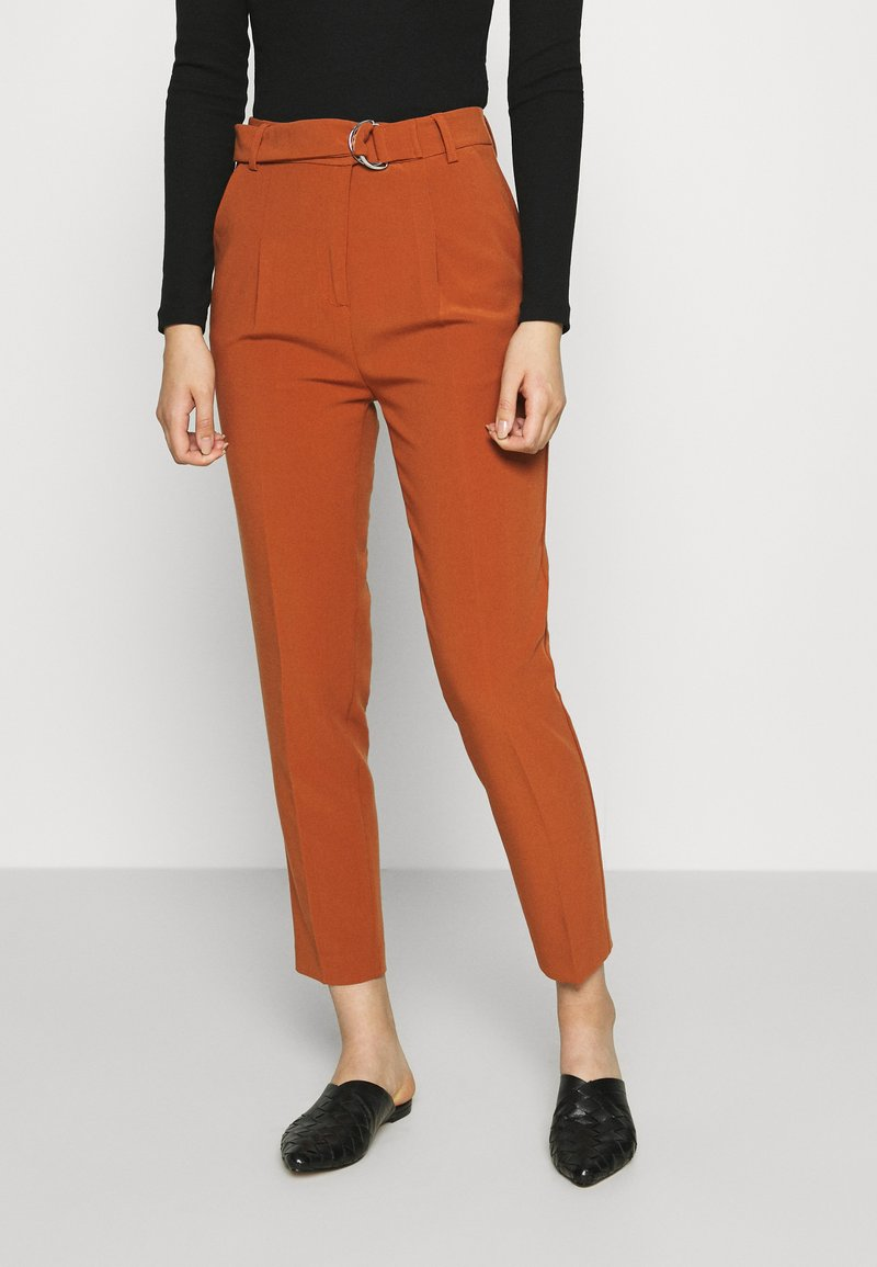 Benetton - TROUSERS - Trousers - brown