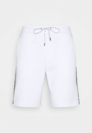 BLOCKED LOGO  - Shorts - white