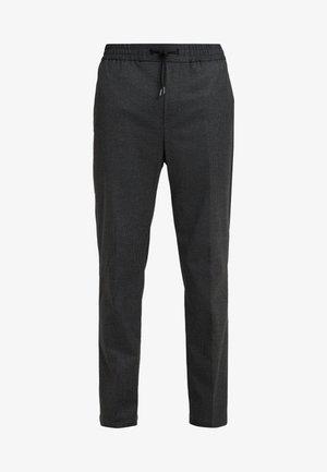 CALVIN - Trousers - dark grey melange