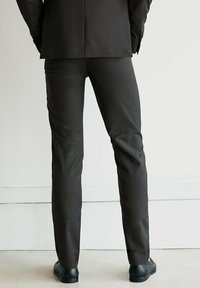 Massimo Dutti - Suit trousers - dark grey - 2