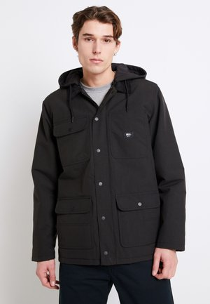 DRILL CHORE COAT - Jas - black