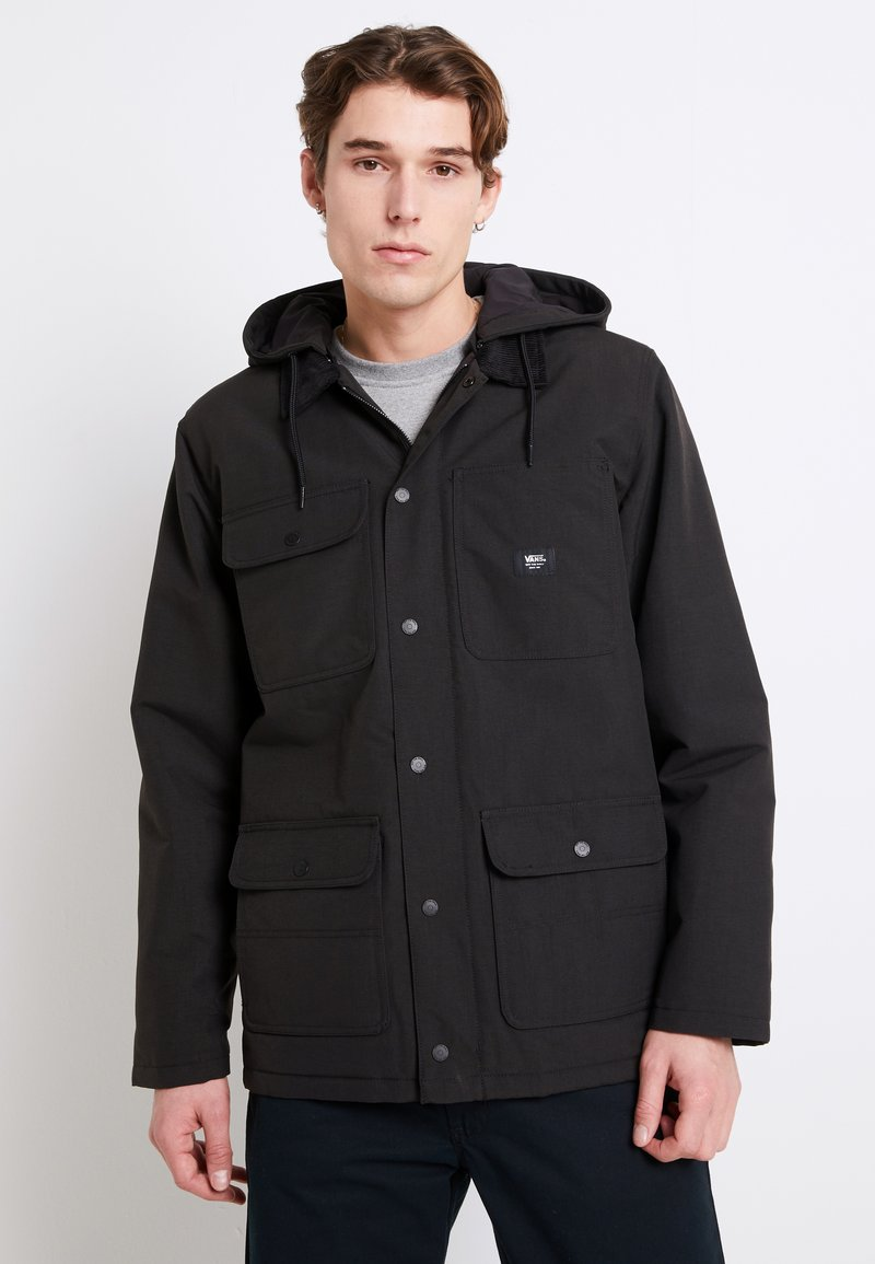 Vans - MN DRILL CHORE COAT MTE - Lehká bunda - black