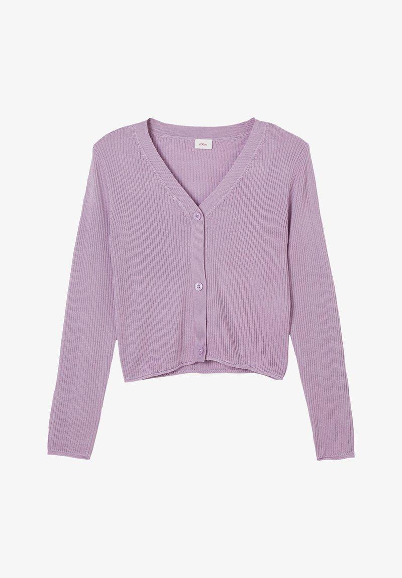 s.Oliver - JAS - Cardigan - light purple