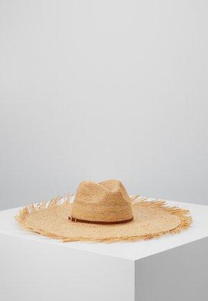 CAPPELLO FALDA LARGA - Hat - sand