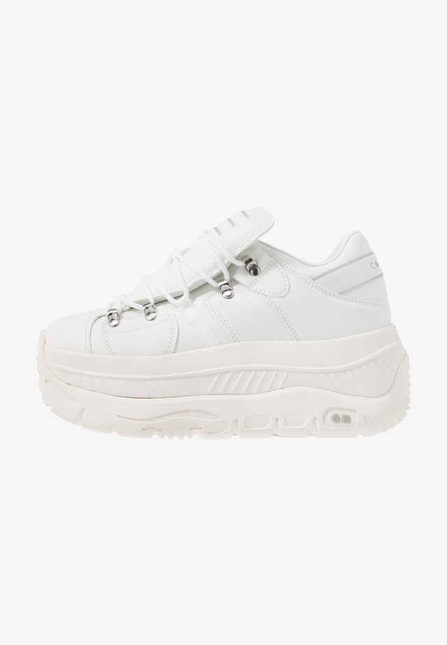 CRASH - Sneakers laag - white